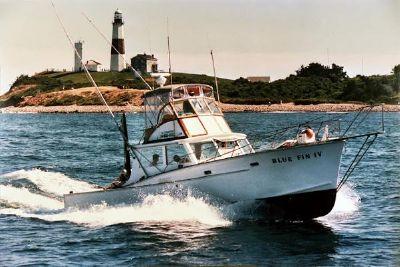 1969 Custom Sport Fishing Boat