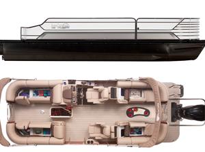 2021 SunCatcher ELITE 324 RC W/ YAMAHA VF225 OUTBOARD