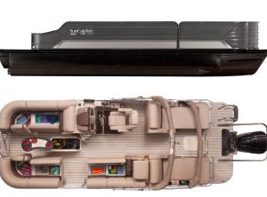 2021 SunCatcher ELITE 324 SS W/ YAMAHA VF225 OUTBOARD