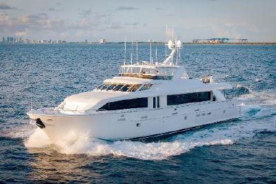 2003 Hatteras 100 Motor Yacht