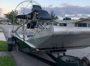 2002 Airboat Al David