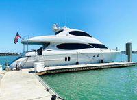 2002 Lazzara Yachts 80 Skylounge M.Y.