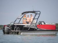 2020 Tahoe Pontoon LTZ Elite Windshield 24'