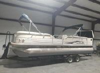2005 Sun Tracker 25 Parti Barge