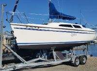 2000 Catalina 250 Wing Clean Trailer, Ready