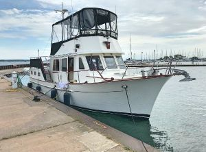 1983 CHB 34 Motor Yacht