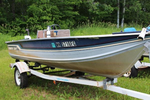 1988 Smoker Craft 14 Boat