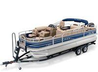 2021 Sun Tracker Fishin' Barge 22 DLX