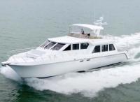 1999 Navigator 6300 Pilothouse Custom Layout