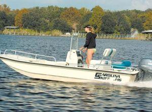 2007 Carolina Skiff J1650 SS