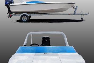 2021 Custom 15-ft Mini Speedboat