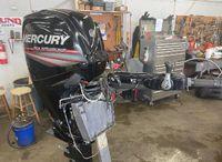 2015 Mercury 90 ELPT Big Tiller