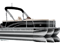 2021 Harris SUNLINER 230 - SL - PERFORMANCE TRIPLE TUBE