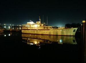 1954 Trumpy motor yacht
