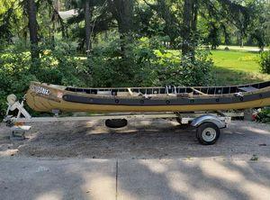 2015 Custom 15ft Sq Stern Sportspal Canoe