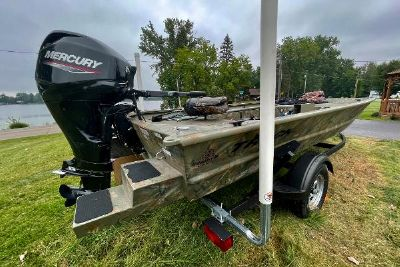2019 Tracker Grizzly 1654 T Sportsman