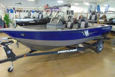 2022 Crestliner 1650 Discovery Side Console