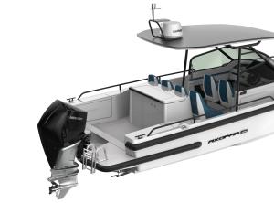 2021 Axopar 28 T-Top BRABUS Trim WetBar