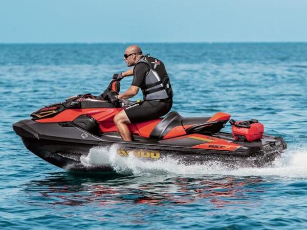 New 2019 SEA-DOO RXT-X 300 IBR & Sound System Eclipse Black and