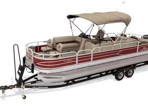 2019 Sun Tracker Fishin' Barge 24 DLX