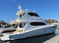 2008 Hatteras 64 ENCLOSED BRIDGE