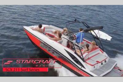 2021 Starcraft SCX Surf Series 211 l/O Surf