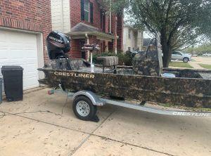 2019 Crestliner 1860 Retriever CC