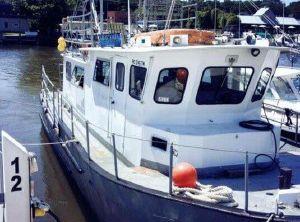 1977 Martin 40 Dive Trawler