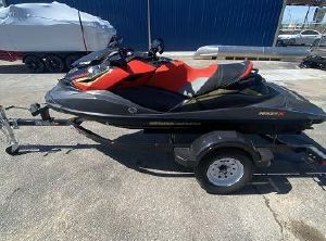 2020 Sea-Doo RXP®-X® 300 Eclipse Black and Lava Red