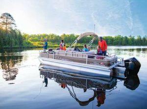 2020 Sun Tracker Fishin' Barge 24 XP3