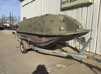 1998 Outlaw 14' DUCK BLIND BOAT