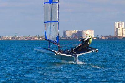2018 Custom Foiling World F101 Sailboat
