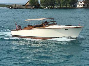 1975 Egg Harbor Cruiser modified Convertible.