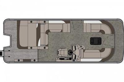 2021 Avalon LSZ Versatile Rear Bench 24' w/ 150HP Mercury 4-Stroke!