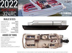 2022 SunCatcher ELITE 324RC W/ YAMAHA VMAX 200 SHO OUTBOARD