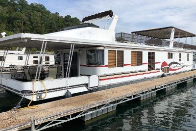2001 Lakeview 16x82 Houseboat