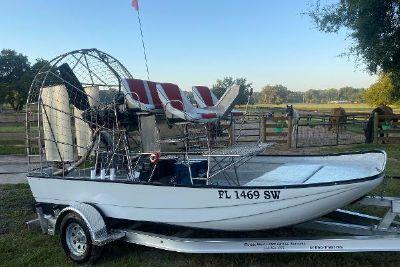 2020 Custom Air Boat