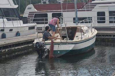 1976 Columbia T23 sloop