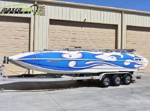 2006 American Offshore 2800 Deck