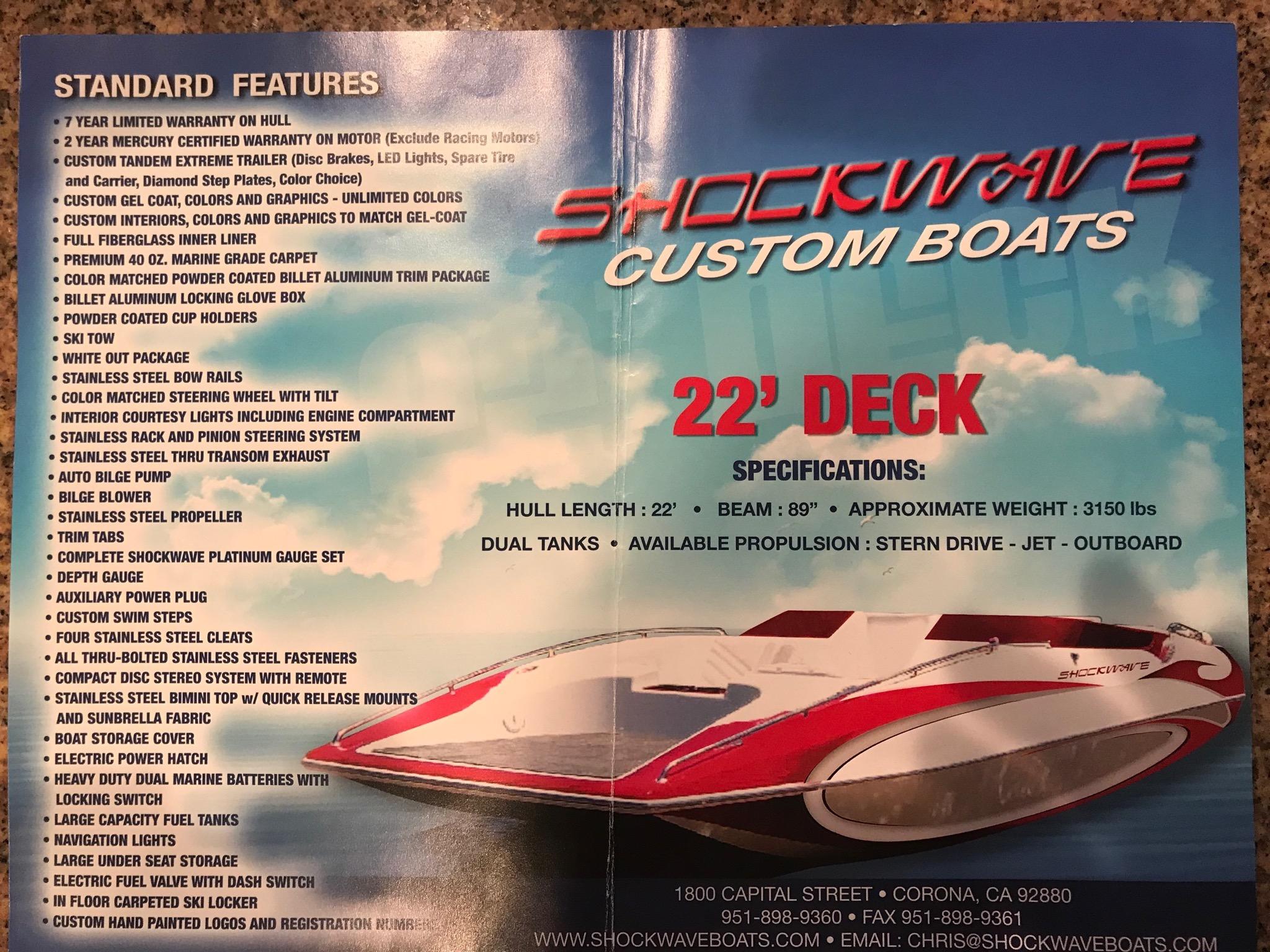 Shockwave boats for sale - Boat Trader