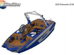 2022 Malibu 23MXZ Wakesetter