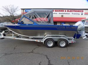 2021 Custom Weld 19 Offshore ET