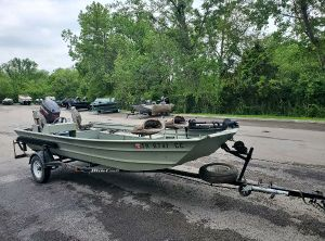"""1999 Custom 17'54"""" Jon Boat"""