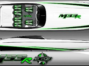 2022 Daves Custom Boats M33R