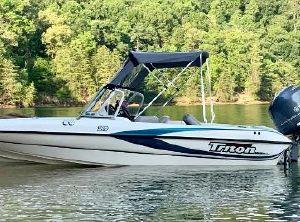 2001 Triton TX189DCF Walleye