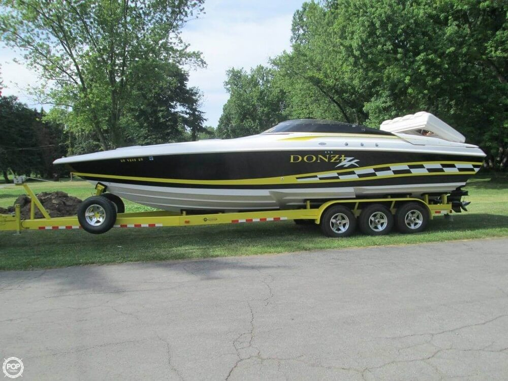 Donzi For Sale >> Used 1998 Donzi 33 Zx Cortland Oh 44410 Boat Trader