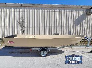2021 Hog Island Boat Works 16w Shallow Water Skiff