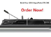 2022 Godfrey Aqua Patio 275 CBE