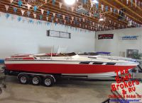 1979 Wellcraft Scarab 330 TRS Close Bow