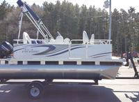 2021 Qwest Pontoons Gillgetter 7515 Fishmaster